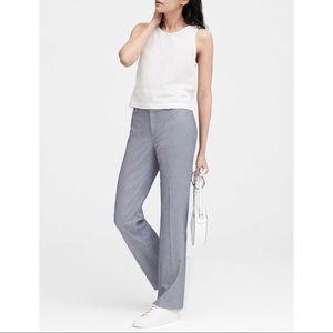 NWT Banana Republic Gray Logan Trouser Dress Pants